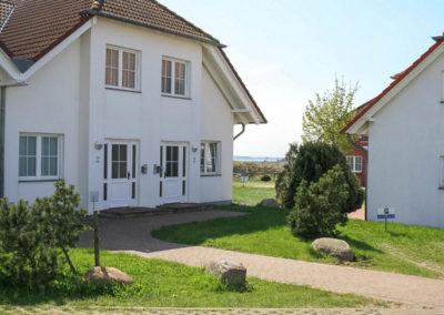 Blick vom Haus auf den Jasmunder Bodden